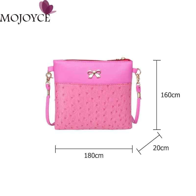 ... Vintage Bowknot Sling Messenger Bag for Women Brand Designer PU  Shoulder Satchel Handbag Ladies Luxury Zipper d29b55e99ea3
