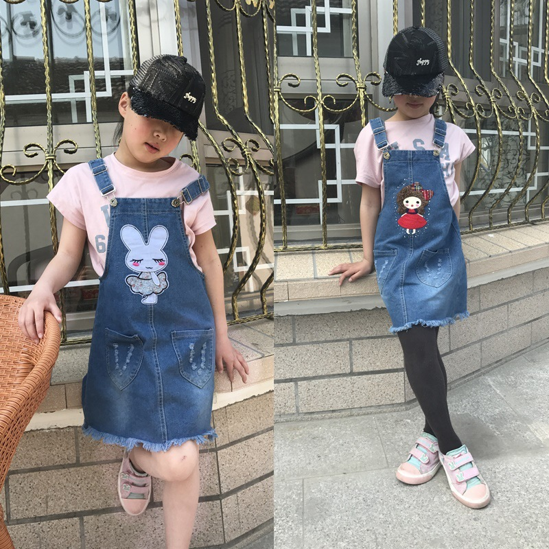 Model Child Ladies Denim Gown Clothes for 3-10T Ladies Toddler Youngsters Summer season Style Teenager Belt Clothes Vestidos Sundress bebes Clothes, Low-cost Clothes, Model Child Ladies Denim Gown Clothes...