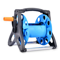 Portable Garden Water Hose Reel Cart Hose Reel Water Pipe Storage Rack Portable Shelf Bracket for Garden Farm