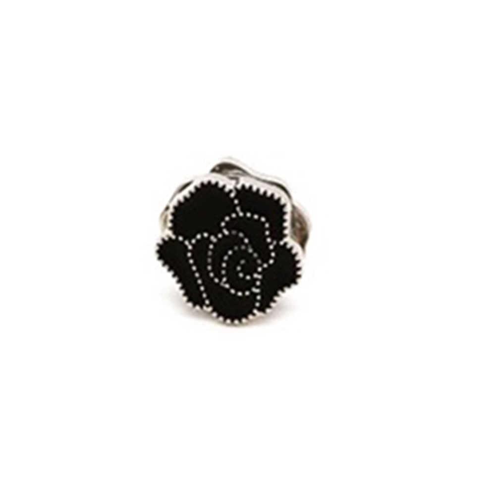 Flor do vintage elegante ímã broche clássico fix pino hijab acessórios muçulmano cachecol fivela 1pc