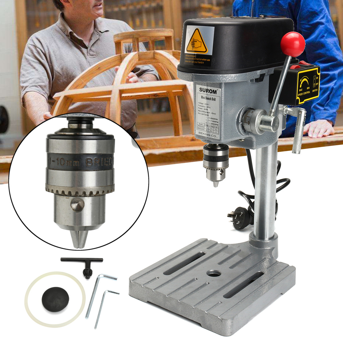 Aliexpress.com : Buy 340W 220V 16000rpm Electric Drill ...