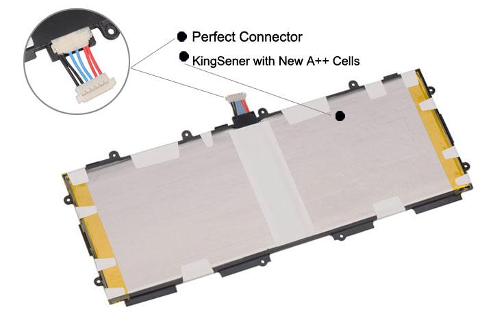 KingSener T4500E T4500C ersättningsbatteri för Samsung Galaxy Tab 3 - Laptop-tillbehör - Foto 3