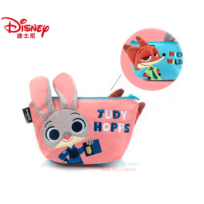 Genuine Disney Zootopia Judy Nick Multi function Women Bag Wallet Purse Baby Care Bag Fashion Mummy