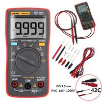 AN8008 RMS Digital Multimeter 9999 counts Square Wave Backlight AC DC Voltage Ammeter Current Ohm Auto/Manual