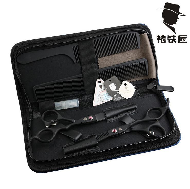 """6 """"Сплив кінцями вирізати волосся ножицями японський бритви перукарські ножиці перукарські ножиці перукарські волосся ножиці професія  t"""