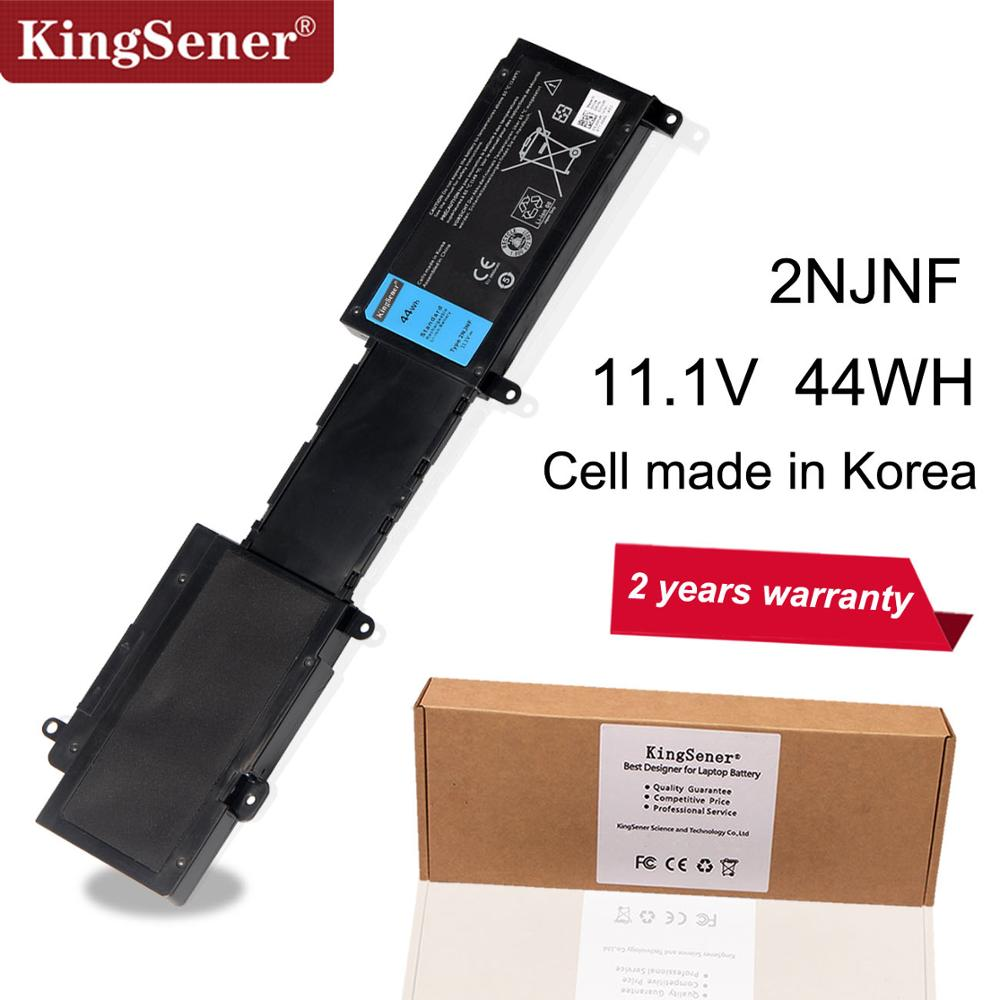 KingSener Korea Cell New 2NJNF Laptop Battery For DELL Inspiron 14Z-5423 15Z-5523 Ultrabook 2NJNF 8JVDG T41M0 TPMCF 11.1V 44WH