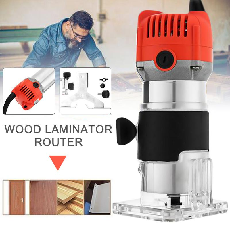 Router Trimmer UNS EUR UK aus Standard Elektrische Hand Trimmer Motor Carving Maschine Carpenter Holz Trimmer Power Tool