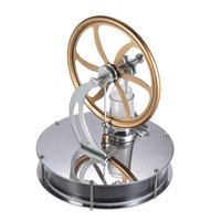 NEW Arrival Aibecy Low Temperature Stirling Engine Motor Model Heat Steam Education Toy DIY Kits toys for Chidlren