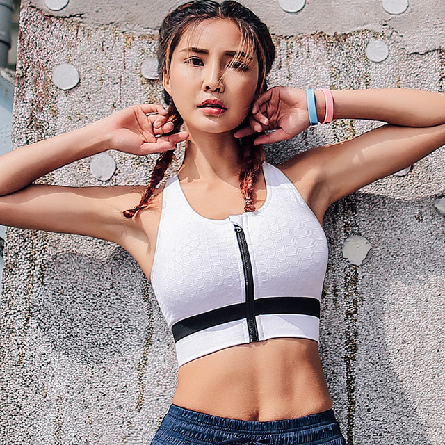Adjustable Fitness Sports Bra