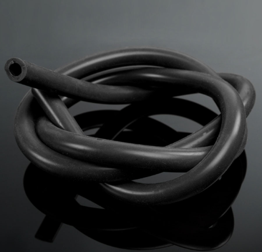 Vacuum Silicone Hose Racing Line Pipe Tube Black 1 Meter IDxOD:6x12mm