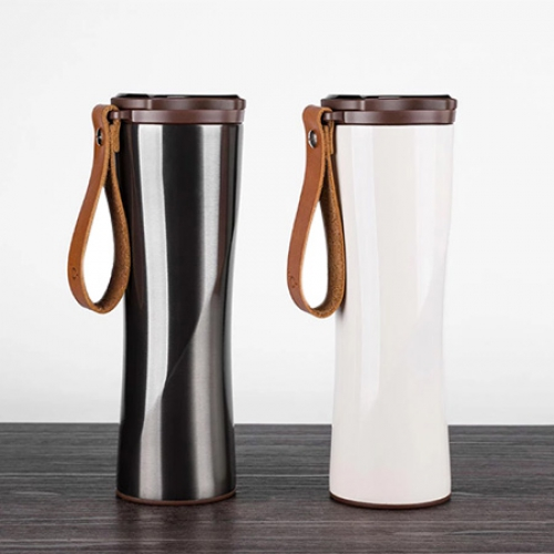 Xiaomi Simple Stainless Steel Intelligent Thermal Vacuum Water Bottle from xiaomi youpin