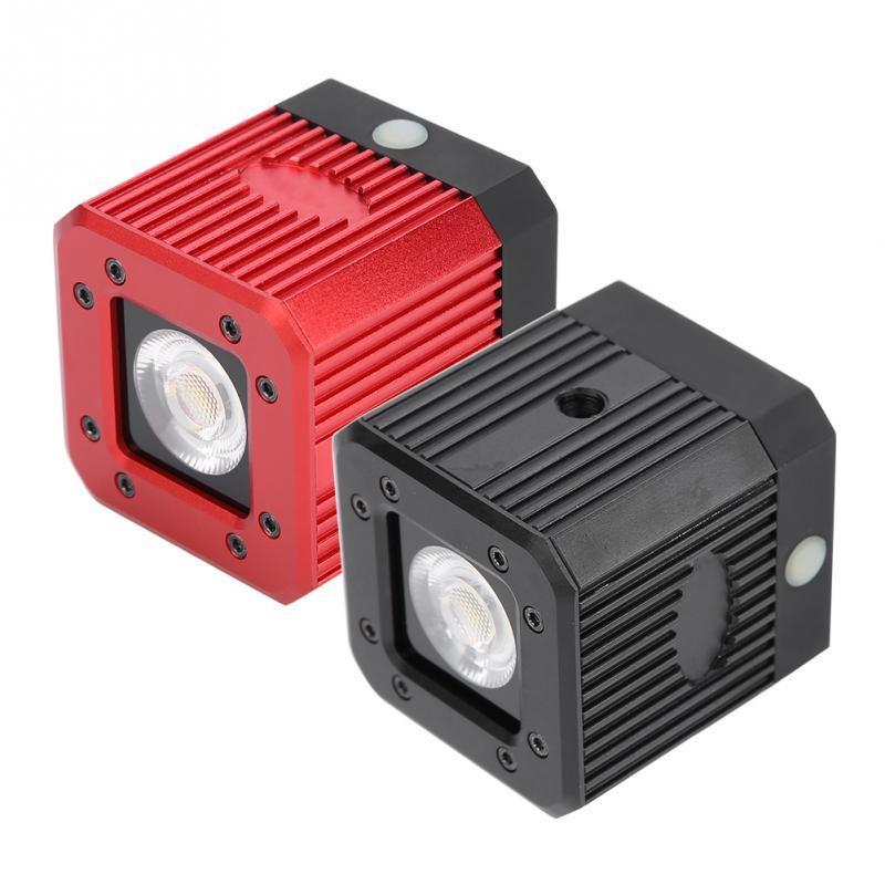 20 m Plongée Mini LED Photographie Remplir Lumière 3200 K-5600 K Dimmable Lampe Flash pour Gopro Nouveau