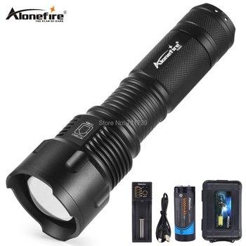 AloneFire X980 ultra jasne led latarka 26650 latarka z regulacją wiązki światła wodoodporna T6 2000LM 3 tryb światło dla 3x AA lub 3.7v 26650 baterii