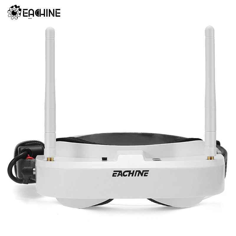 In Voorraad Eachine EV100 720*540 5.8G 72CH FPV Bril Met Dual Antennes Fan 7.4V 1000mAh batterij FPV Drone VS Fatshark Aomway