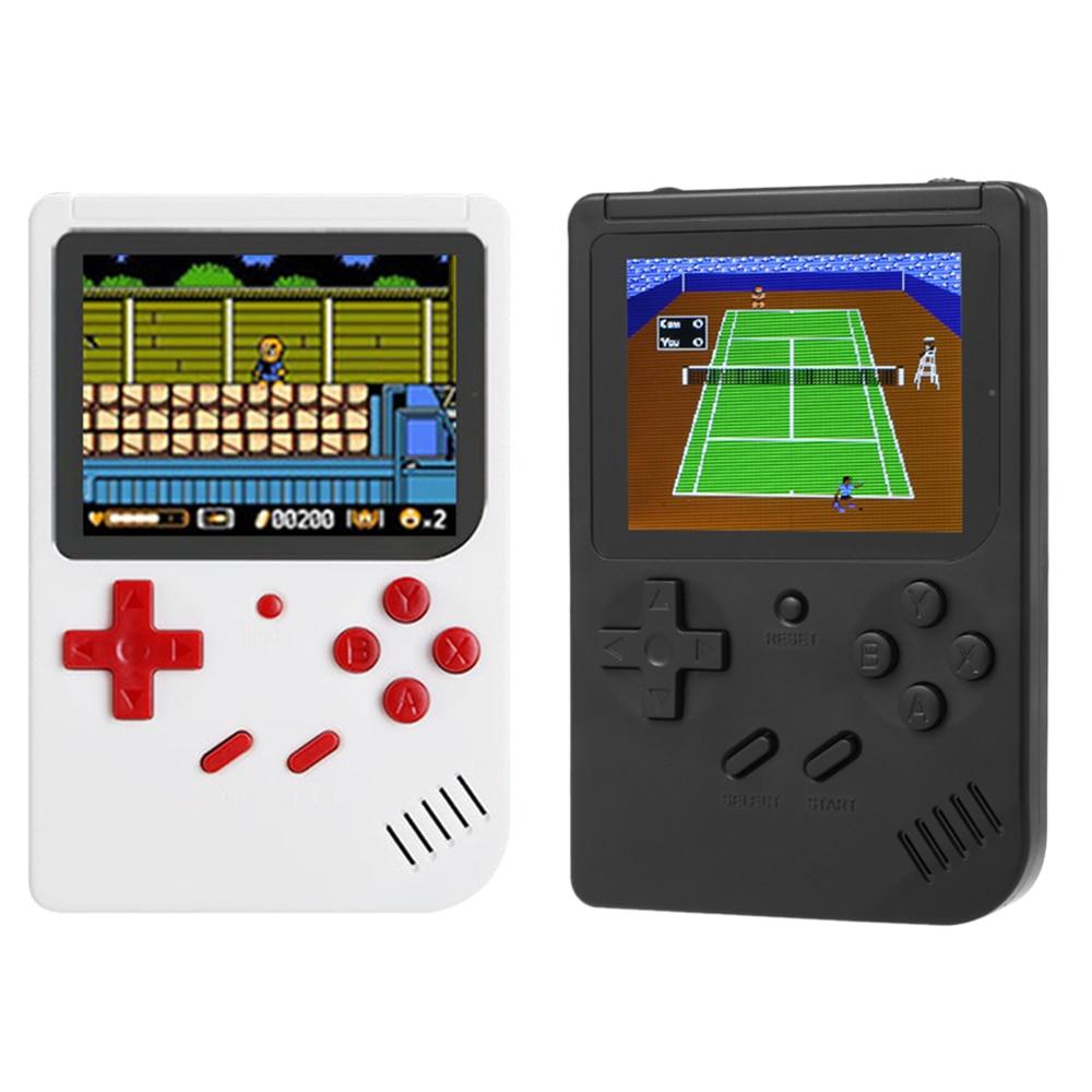 Unterhaltungselektronik Videospiele Tragbare Retro Handheld Spielkonsole Multifunktionale Gaming Maschine Eingebaute 300 Klassische Spiele 2,5 Zoll Bildschirm Unterstützung Av Out