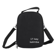 17Keys Kalimba Box Thumb Piano Speaker Pickup Storage Shoulder Bag Handbag Case