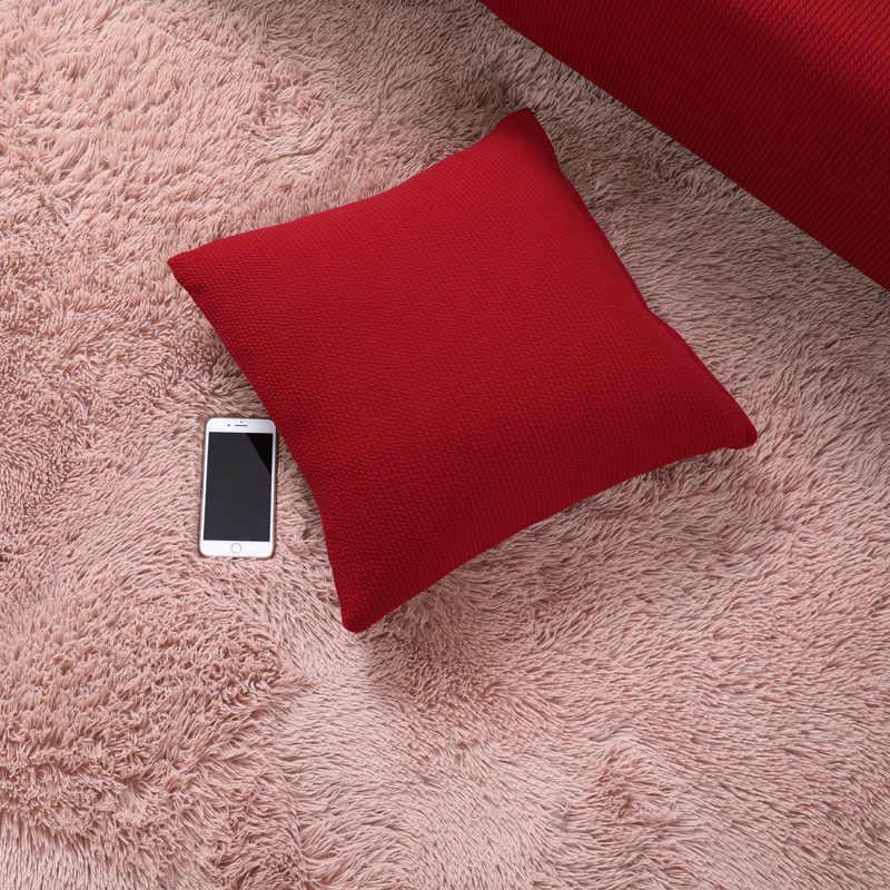 New Red Slipcover Não-deslizamento Desgaste Slipcover Lavável Destacável Totalmente Fechado de Propósito Geral Slipcover 1 PCS