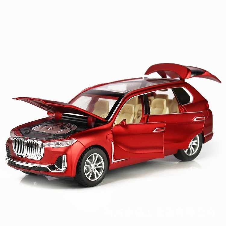 New 1:32 X7 Simulation Alloy Toy Cars Diecast X7 Pull Back SUV Car Model Children Toys Off-road Vehicles Baking Cake Decorations