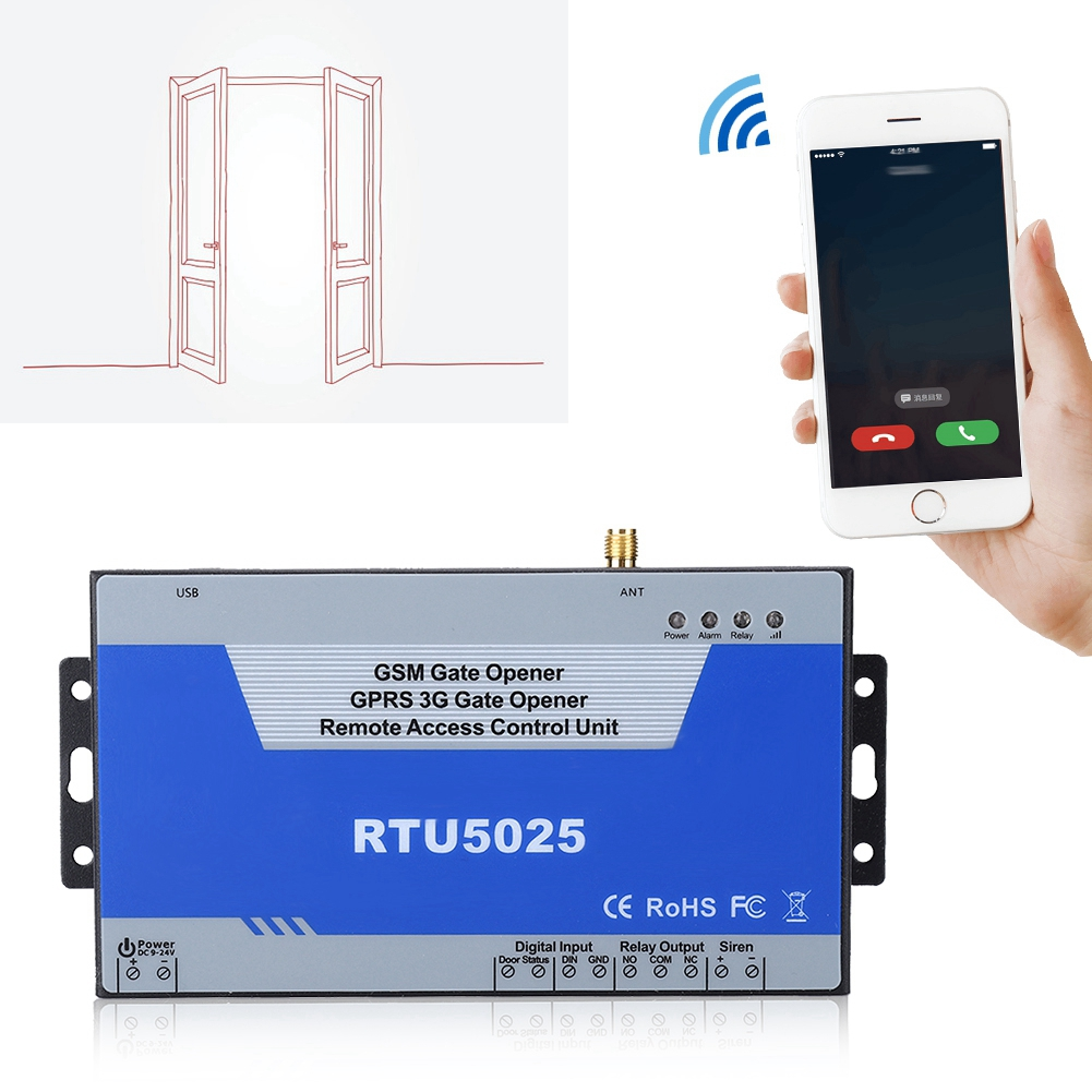 Remote Gate-Opener Garage Door-Access-Controller RTU5025 Operator Wireless Usb-Communication-Port
