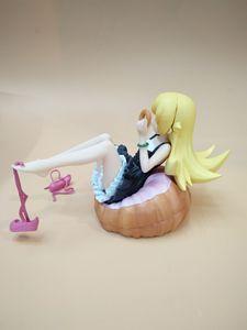 Image 3 - Quente bakemonogatari oshino shinobu privada 1/8 escala pintado figura de ação shinobu oshino rosto changable boneca brinquedo presente natal novo
