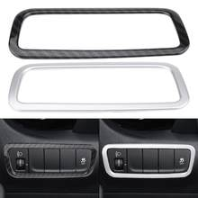 Car Headlight Headlamp Switch Panel Decorative Cover Trim Frame for Hyundai Encino Kauai Kona 2017 2018 2019 2020 SUV New(China)