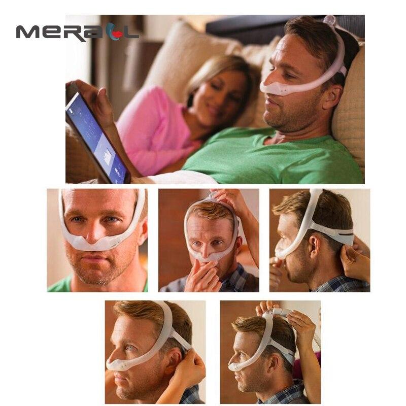 Masque Nasal Dreamwear confortable sous le nez masque Nasal Anti ronflement masque de sommeil appareil respiratoire pour l'apnée du sommeil