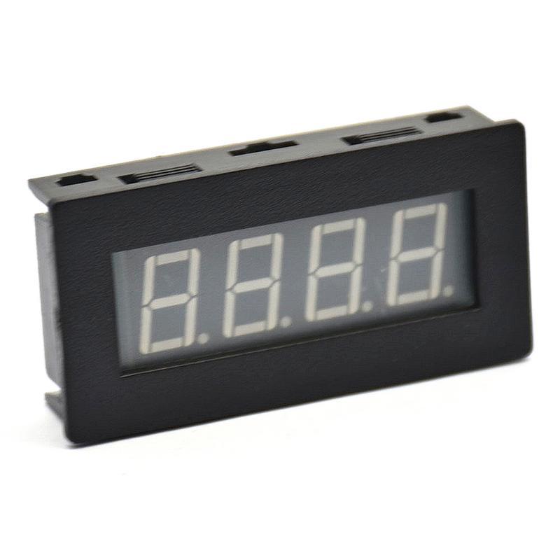 1 Uds tacómetro de frecuencia digital Universal 4LED medidor de velocidad RPM probador 5-9999R/M DC8-15V C5P3 accesorios de coche
