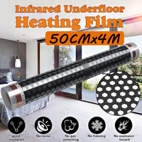 Brand New 50CM*4M Floor Infrared Underfloor Heating Film Honeycomb Reticulated 220V For Room