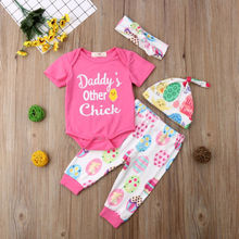 My First Easter Newborn Baby Boy Girl Outfits Set