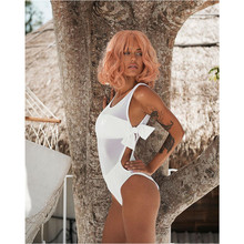 Meihuida Swimwear Beach Bikini 2019 Women Sexy Monokini Padded Swimsuit Beachwear Bathing Suit