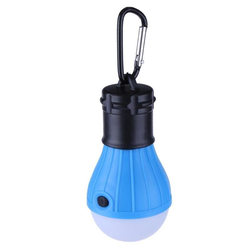 1pc Portable Emergency Camping Tent Soft Light Outdoor Hanging Sos 3 Led Lanters Bulb Fishing Lantern Hiking Energy Saving Lamp Portable Lighting