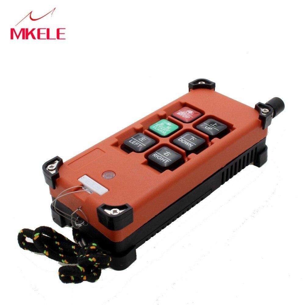 AC 220 В 380 В 110 В DC 12 В 24 В кран промышленный пульт дистанционного управления беспроводной передатчик кнопочный переключатель 1 передатчик 1 при...