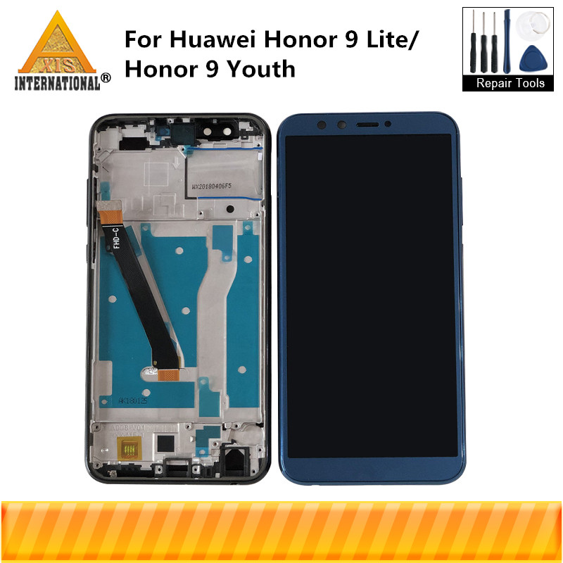 Axisinternational For Huawei Honor 9 Lite LCD Display Screen With Frame+Touch Digitizer For LLD-AL00 LLD-AL10 LLD-TL10 LLD-L31Axisinternational For Huawei Honor 9 Lite LCD Display Screen With Frame+Touch Digitizer For LLD-AL00 LLD-AL10 LLD-TL10 LLD-L31