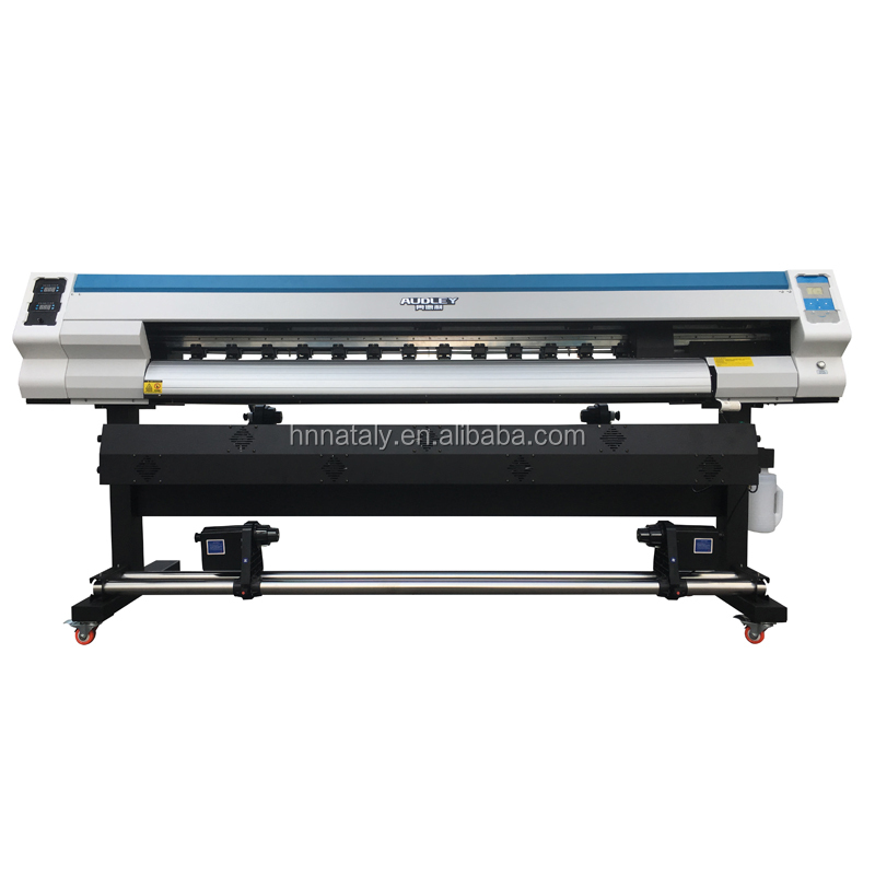 Cheap 1.8m Multicolor Digital Vinyl Printer 1440 Dpi Eco Solvent Inkjet Plotter