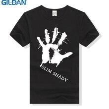 GILDAN Eminem Slim Shady T Shirt Men Women HipHop Tshirt Cotton T-Shirt Hip Hop Clothing Hip-hop Marshall Mathers Tee