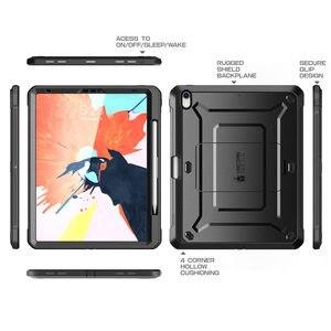 Image 3 - Capa para lápis da apple compatível, capa para ipad pro 11 suporte de corpo inteiro ub capa robusta com construção no protetor de tela & kickstand