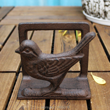 Cast Iron Crafts Bar Restaurant Club Office Paper Towel Clip Business Card Holder Bird Decorative Ornaments