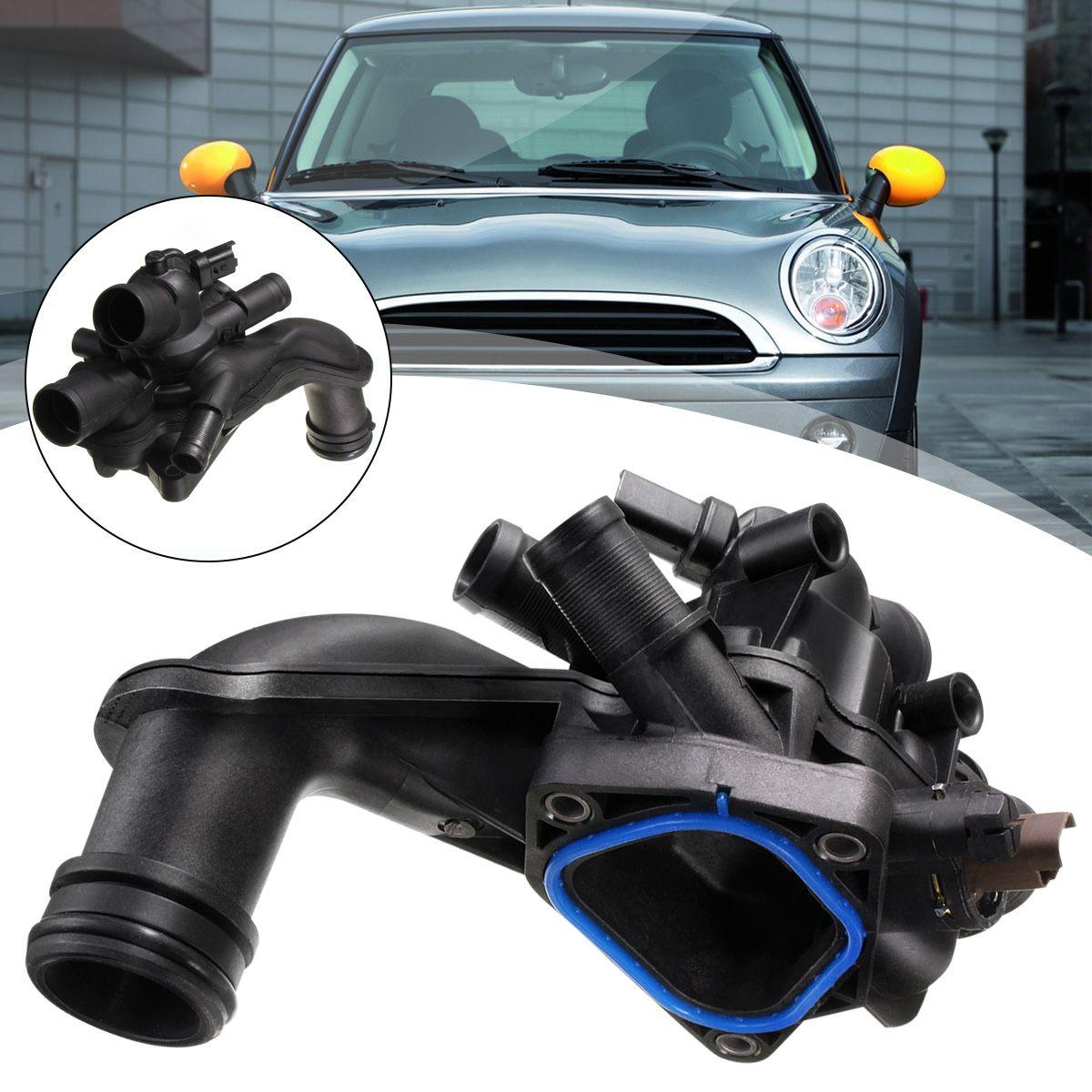 Pour BMW pour Mini Cooper 2007-2013 1.6L-L4 pour CITRON 11537534521X moteur Thermostat boîtier de refroidissement système de refroidissement