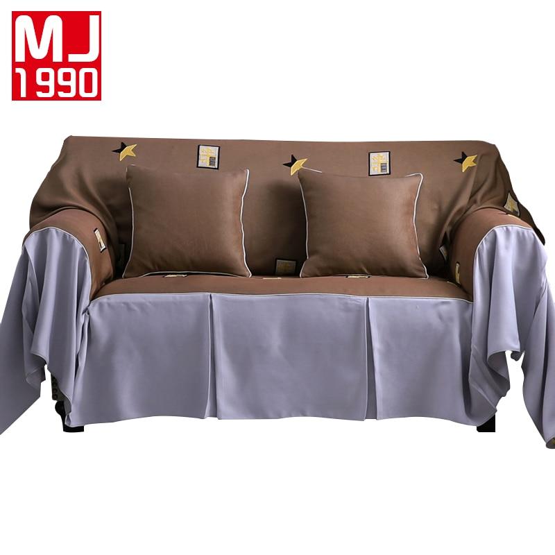 Dust Proof Sofa Towel Polyester Slip Resistant Slipcover