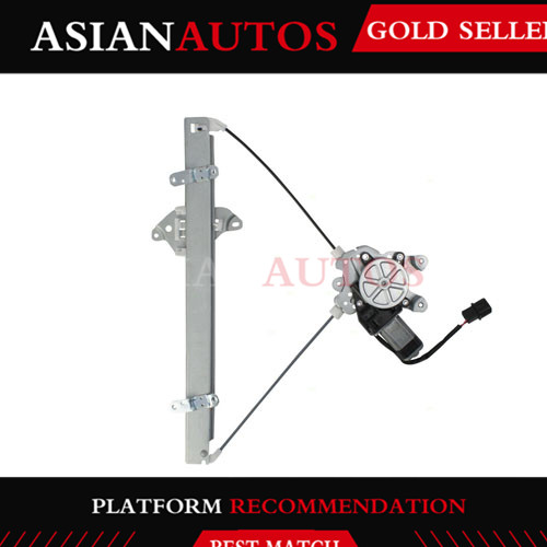 Remanufactured MR573878 Window Glass Regulator Assembly Front Right For Mitsubishi Outlander
