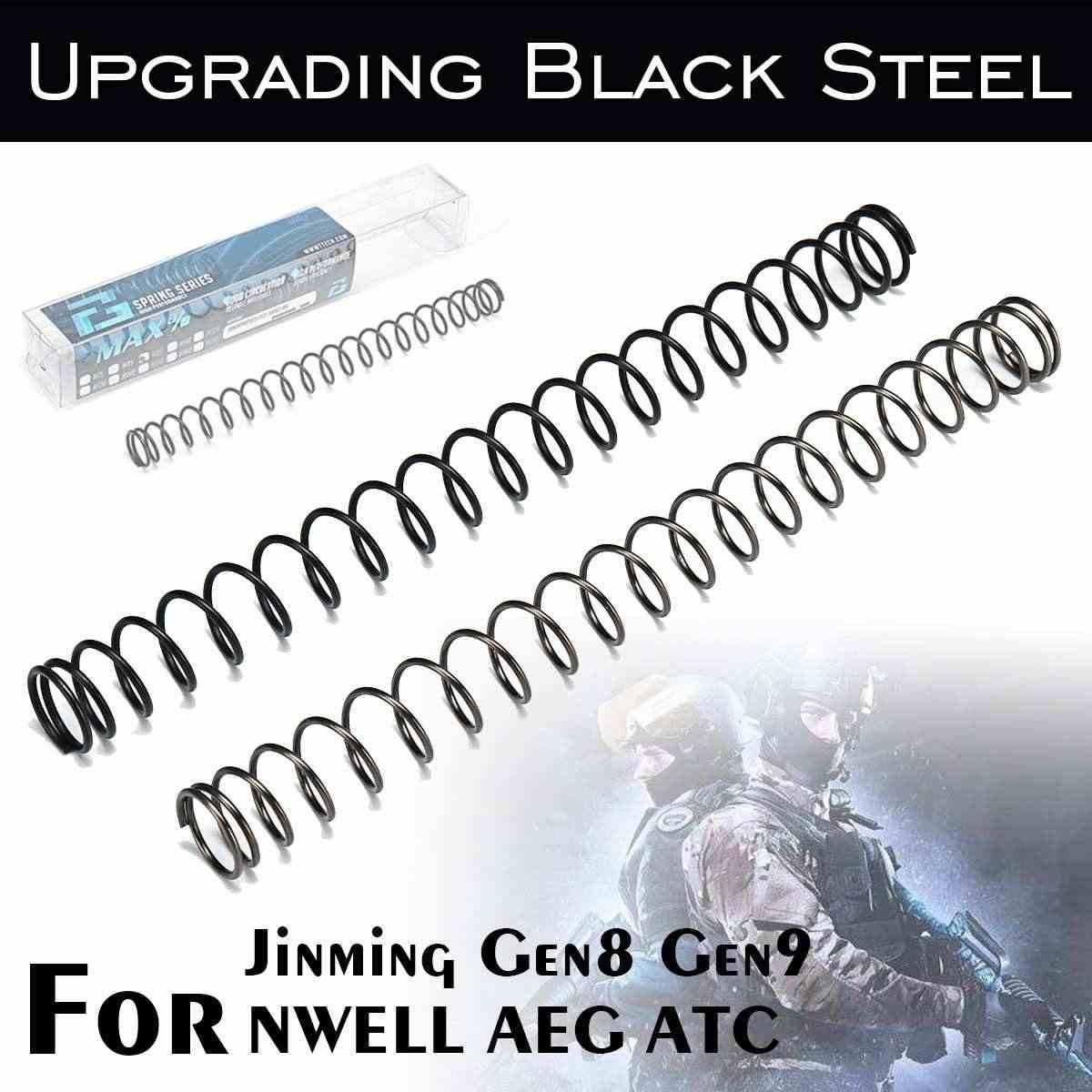 1,2 мм/1,3 мм эквивалентная пружина для Jinming 8/9 NWELL AEG ATC гелевый шар бластеры водные игры игрушечное оружие Сменные аксессуары