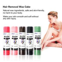 Bluezoo 500 г твердый воск для удаления волос натуральные ингредиенты депиляция воск для депиляции торт мульти ароматизатор опционально