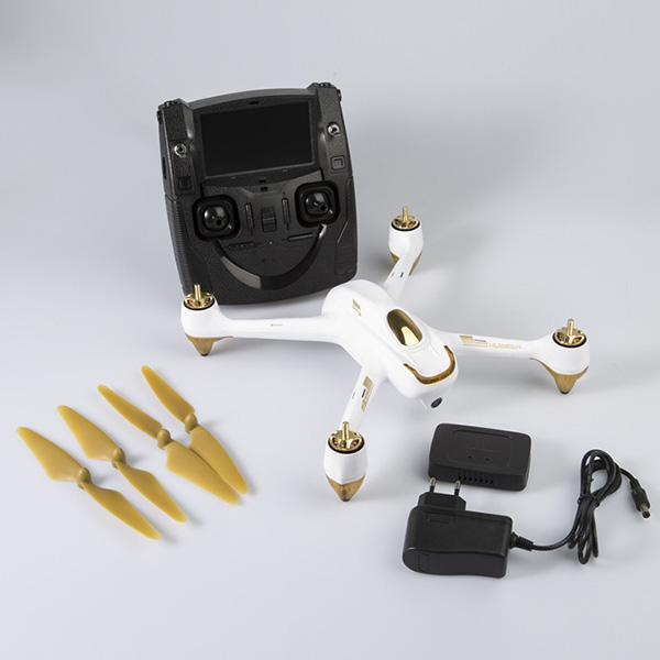 Hubsan H501S Motore Brushless RC Drone 1080 P HD della Macchina Fotografica di GPS di Posizionamento Autunno-Resistente di Volo Più Lungo RC FPV Quadcopter versione bassa