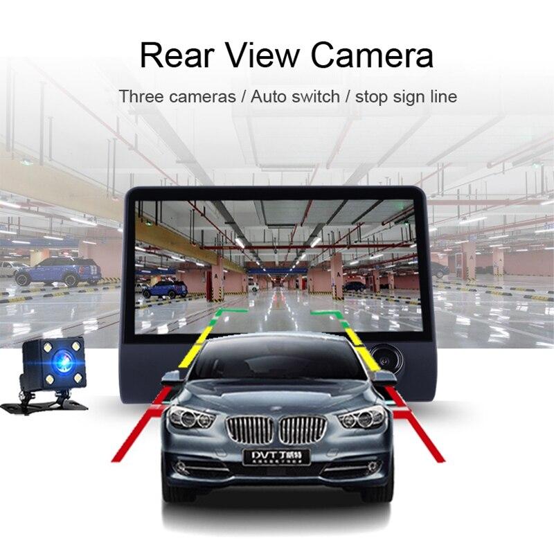 Авто 3 в 1 Радар автомобилей DVR, gps трекер 4,0 дюймов 3 Way камеры видео Регистраторы Антирадары, быстрая камера, видеокамера, Русская озвучка - 5