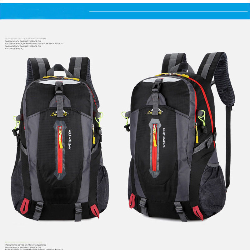 fabb3b81ee Aliexpress.com   Buy 2019 New Backpacks Fashion 50L Waterproof Backpack  Shoulder Hiking Bag Pack Outdoor Camping Travel Rucksack from Reliable  Backpacks ...