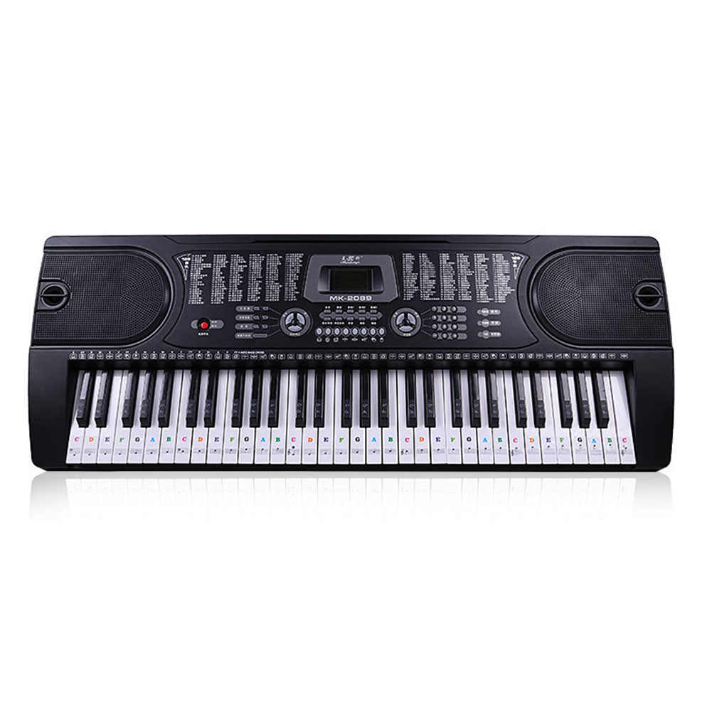 bea217eaba2 Detail Feedback Questions about Sticker Stave Biginners 54 61 Keys ...