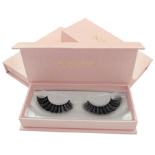 SHIDISHANGPIN 1 Pair hand made false lashes 3d mink eyelashes natural long volume eyelash full strip
