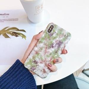 Image 2 - KISSCASE Luminous Phone Case For Samsung Galaxy A50 A30 A6 A8 A9 A7 2018 Pattern Cases For Samsung A3 A5 A7 2017 S10 S9 S8 Plus