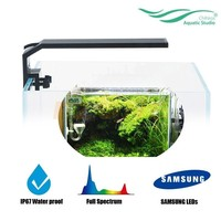 Chihiros Aquarium LED Light Clip on Fixture Water Proof With Brightness Control For Fish And Plant Table Tank Hightlight Lamp