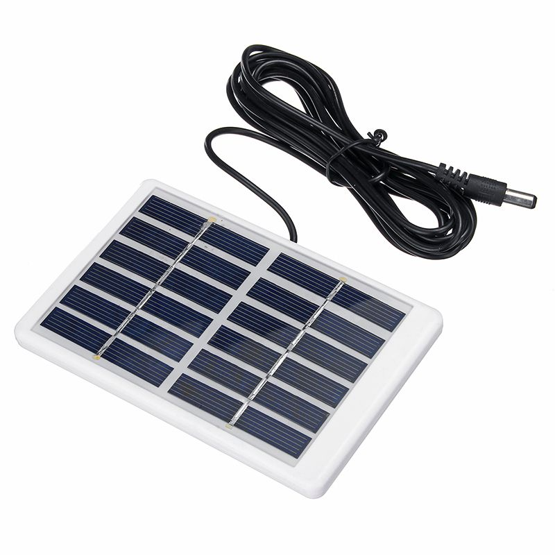 3M 5W 6V Mini Solar Panel Battery Charger Sunpower Energy Class A Polysilicon